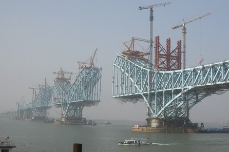 High-speed railway line from Beijing to Shanghai, Nanjing Big Bridge - Geological Supervision